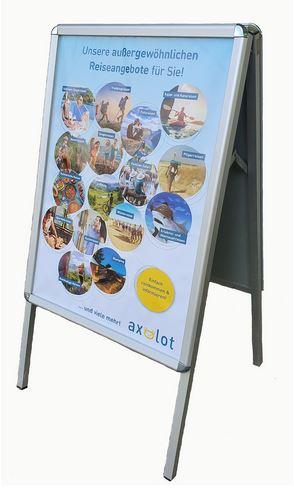 2 x Din-A-1-Plakat für Angebotsaufsteller (ohne Aufsteller)
